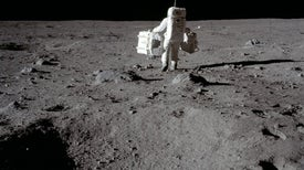 Aldrin Dusts Off Moon Memories