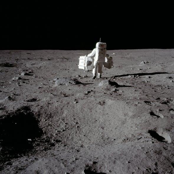 Aldrin Dusts Off Moon Memories