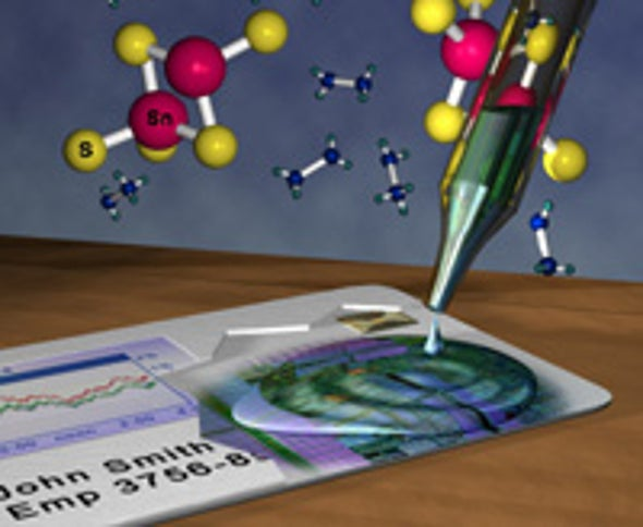 Thin-Film Semiconductors Get Boost from Rocket Fuel
