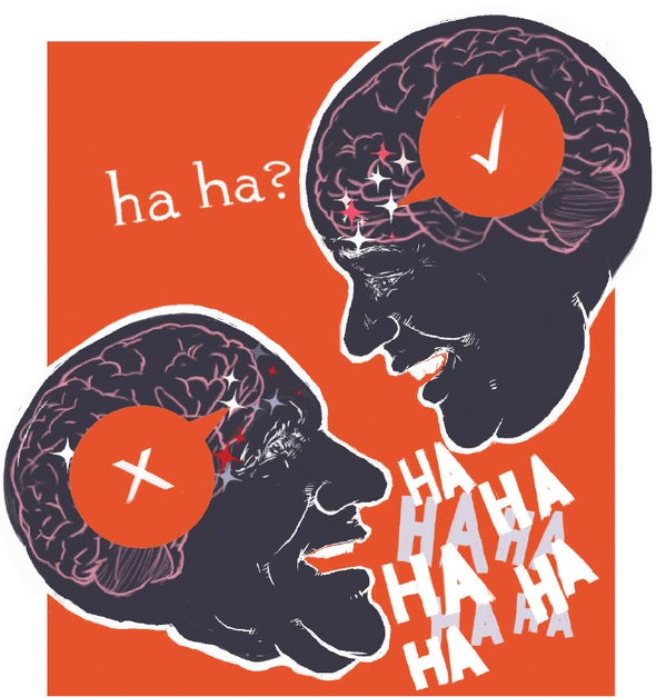 The Brain Can Distinguish between Real and Fake Laughter