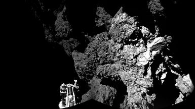 "Lab-Grown ""Comet"" Forms Potential Ingredient for Life"