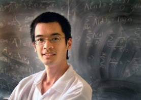 UCLA mathematician Terence Tao, one of five winners of the inaugural Breakthrough Prize in mathematics, a $3 million award.