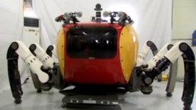 Giant Crab Robot to Scan Sea Floor