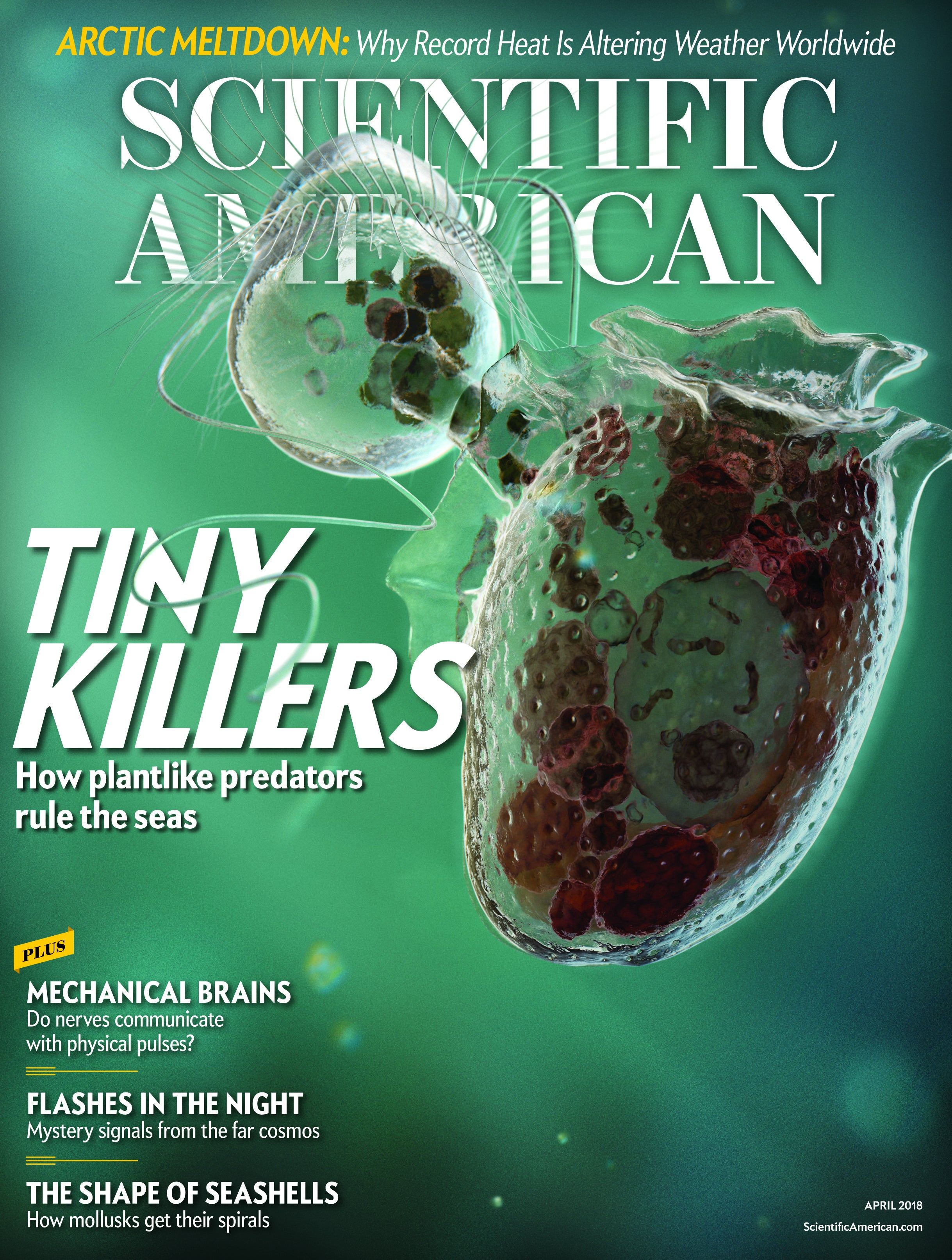 Scientific American Volume 318, Issue 4