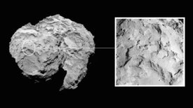 Touchdown Site Selected for Comet Lander