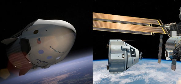 NASA Picks SpaceX and Boeing to Fly U.S. Astronauts on Private Spaceships