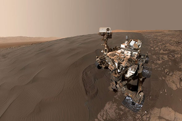 The Search for Life on Mars Is about to Get Weird