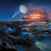EARLY EARTH: 4 to 4.5 billion years ago