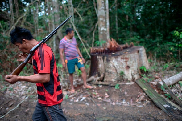 Environmental Activists Have Higher Death Rates Than Some Soldiers