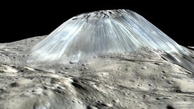 Giant Ice Volcanoes Once Covered Dwarf Planet Ceres