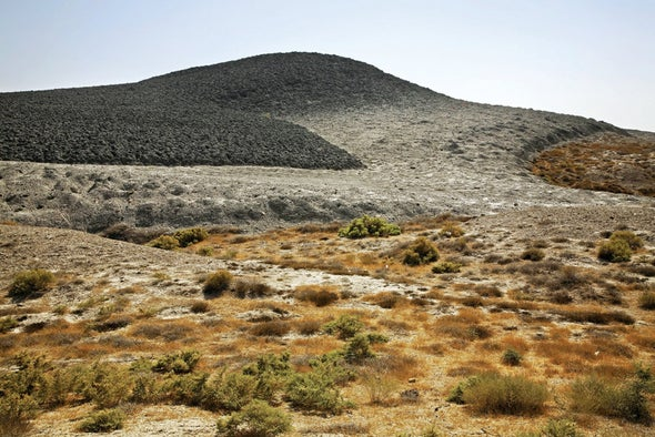 Giant Mud Volcano Reveals Its Powerful Explosive Secrets