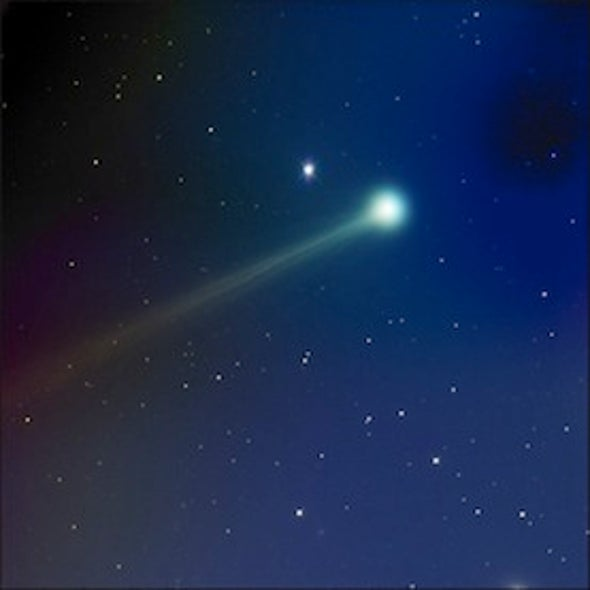Stunning Comet ISON Photos Captured by Amateur Astronomer
