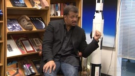<i>Scientific American</i> Asks Neil deGrasse Tyson Why He Has a Saturn 5 in His Office