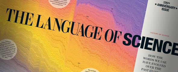 How to Turn 175 Years of Words in Scientific American into an Image
