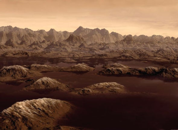 Lake on Saturn's Largest Moon May Have Waves