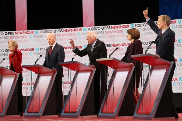 During Debate, Democratic Candidates Sidestep Climate Issues like Coastal Retreat