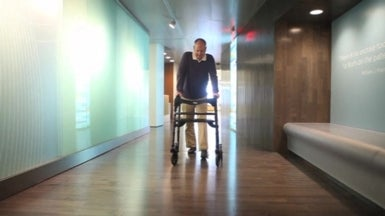Laser technology allows Parkinsonism patients to walk again
