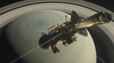 Cassini Bids Farewell before Blazing into Saturn [Video]