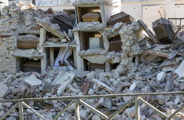Italian Earthquakes Reshape Region