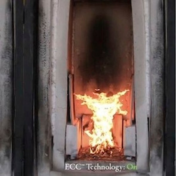 Flame-Taming Electric Fields Could Make Power Plants Cleaner