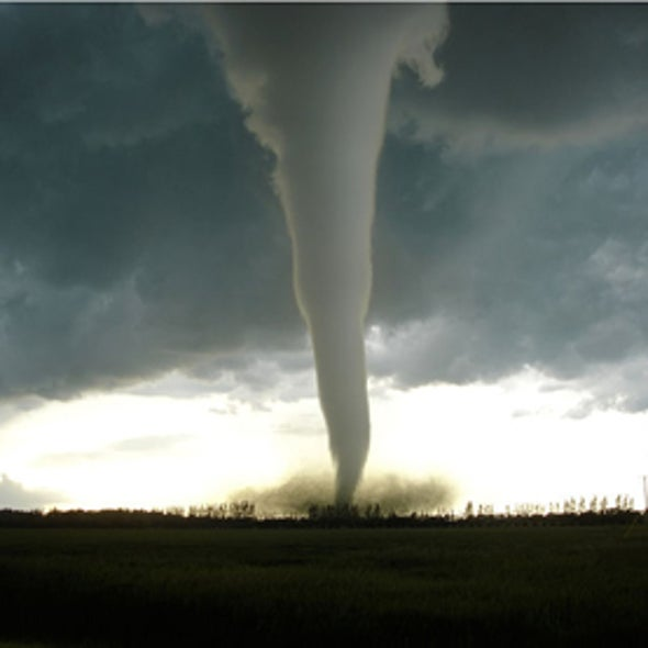 How Tornadoes Gain Power
