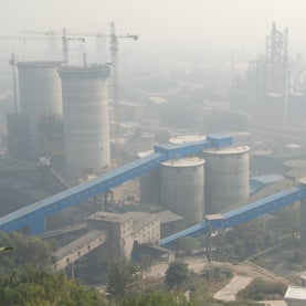 Shanxi-province is the main coal region in China