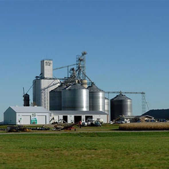 Major ethanol producer to build cellulosic refinery in Iowa