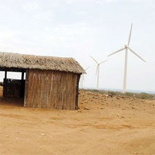 renewable,latin america,wind turbine,colombia