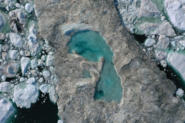 High Temperatures Set Off Major Greenland Ice Melt--Again