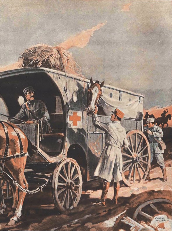 100 Years Ago in <i>Scientific American</i>: Horses Drafted for War Use Receive Medical Care