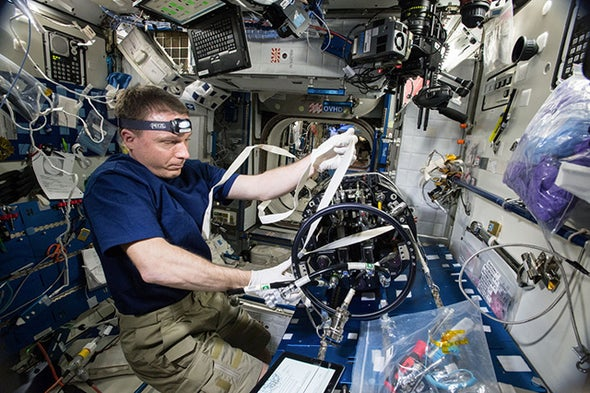 Weightlessness Tackled in New Research Journal