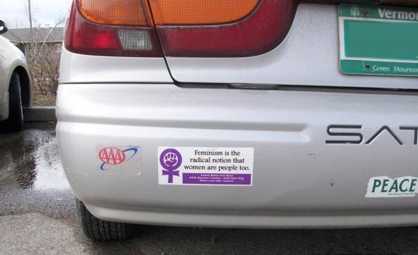 Bumper Stickers Make Highways More Social