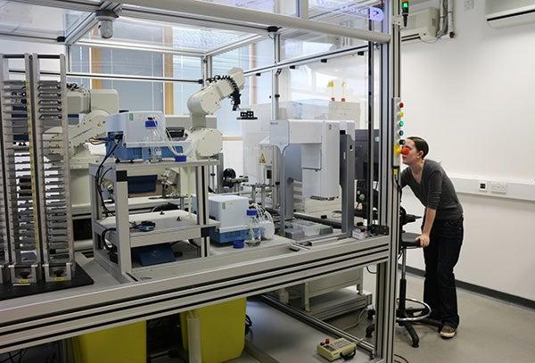 Automated testing robotics