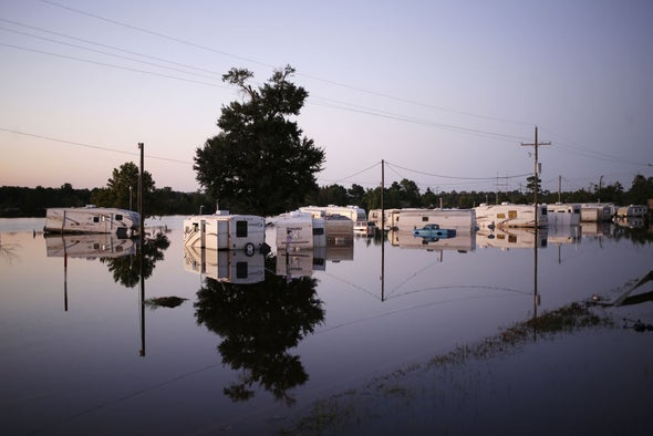 Higher Rainfall Estimates Could Alter Construction Plans
