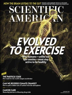 Scientific American Volume 320, Issue 1