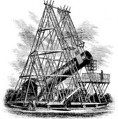 HERSCHEL'S 40-FOOT TELESCOPE: