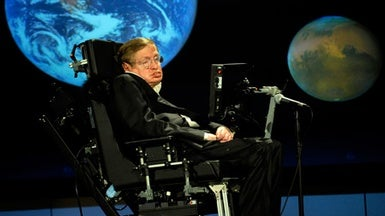 Demand for Stephen Hawking's Thesis Crashes Web Site