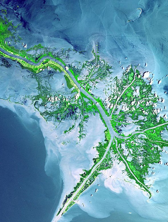 Mississippi River Mouth Must Be Abandoned to Save New Orleans from Next Hurricane Katrina