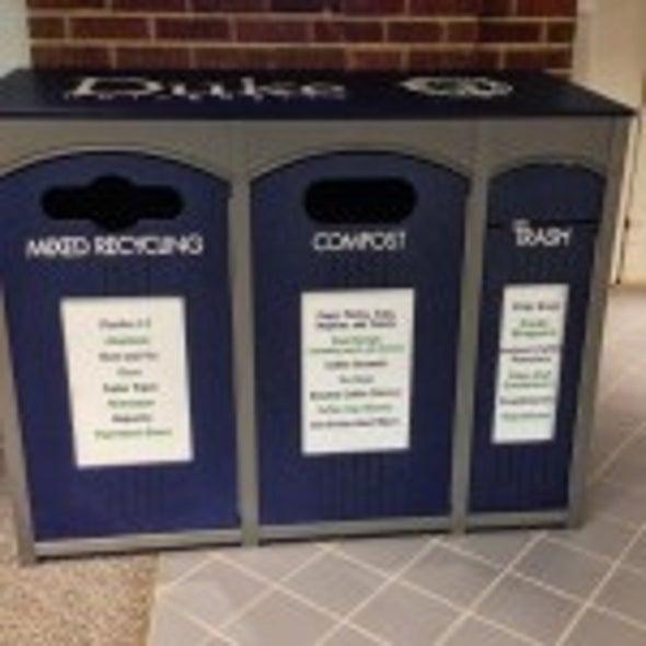 Single Stream Recycling Scientific American