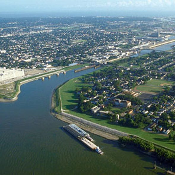 Louisiana Wetlands Tattered by Industrial Canals, Not Just River Levees