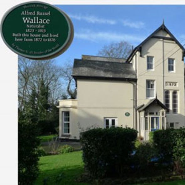 House Built by Evolutionary Theorist Alfred Russel Wallace Up for Sale--£1.5 Million