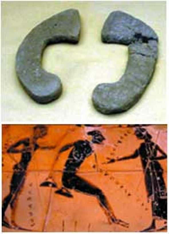 Hand Weights Enhanced Ancient Athletes' Performances