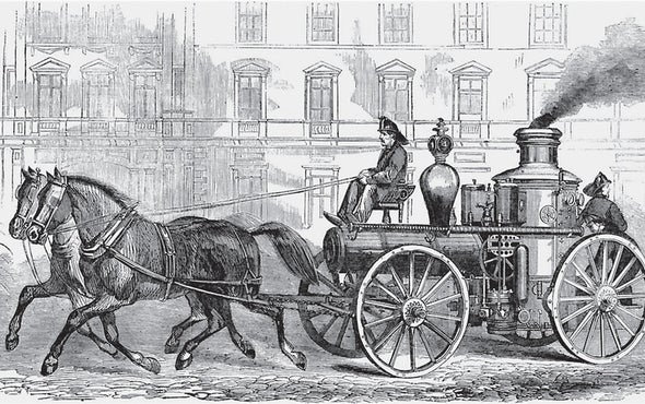 Great Technology from 1867: Fire Engines and Mechanical Reapers