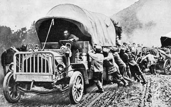 The Motor Vehicle, 1917 [Slide Show]