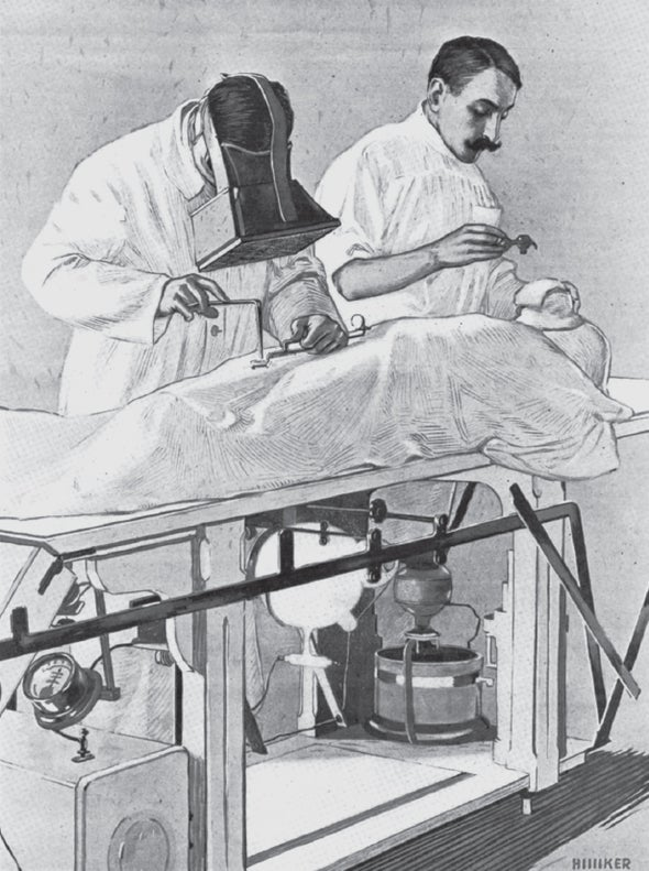Improving the New Science of X-Ray Technology in 1916