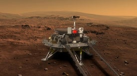 Chinese Spacecraft Poised for First Mars Mission