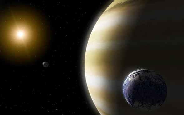 Proposed Exomoon Defies Formation Theories