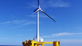 Japan's Offshore Wind Power Rises within Sight of Fukushima Nuclear Plant