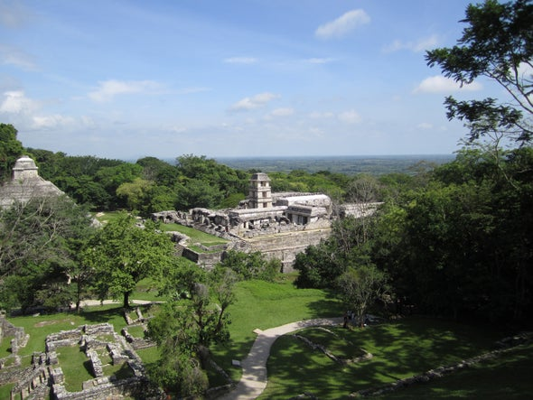 """Volcanic Eruption May Have Plunged the Maya into a """"Dark Age"""""""