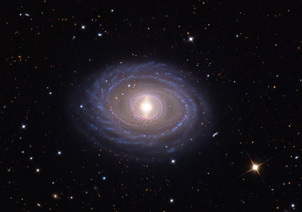 Cosmic Map Reveals a Not-So-Lumpy Universe - Scientific American